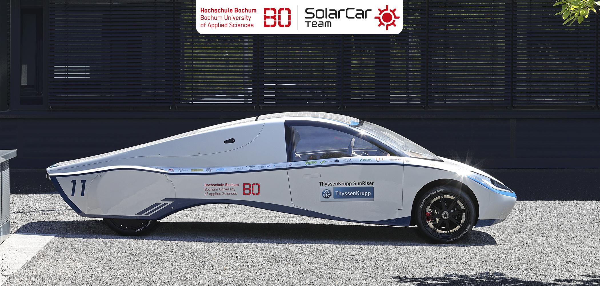 Silex Sponsort SolarCar Projekt